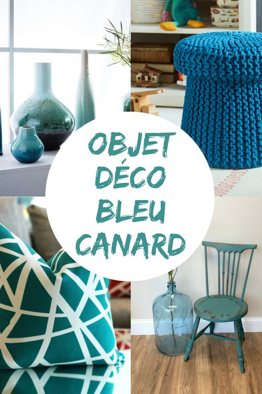 Idee Decoration Maison En Photos 2018 Objet Deco Bleu