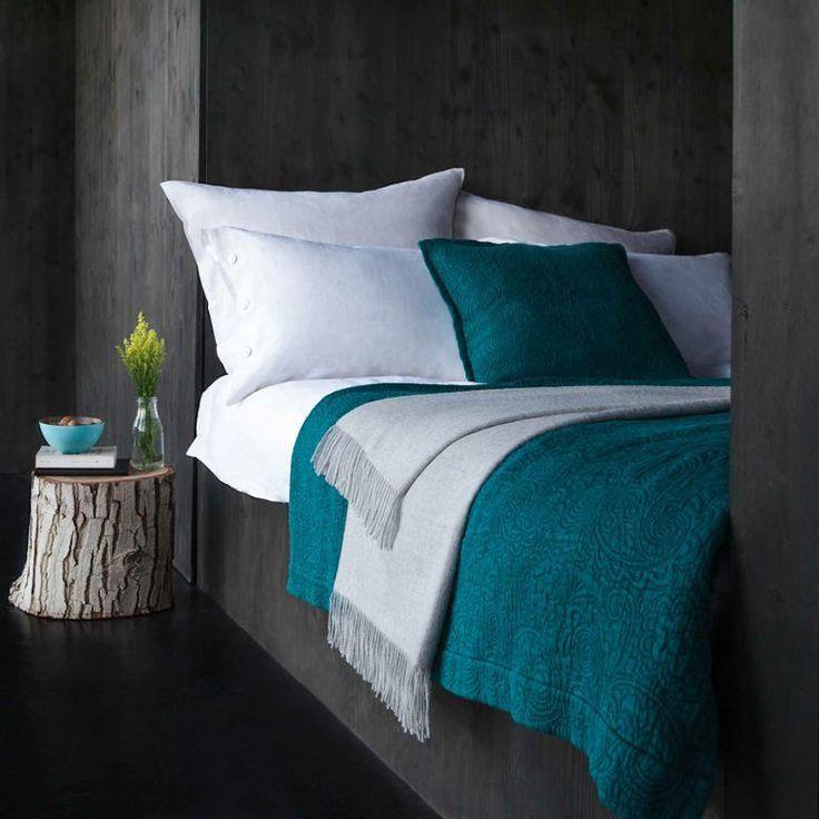 Idée Décoration Maison En Photos 2018 - bleu-turquoise-gris ...