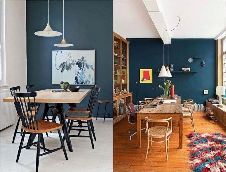 Id e d coration maison en photos 2018 couleur peinture - Deco murale salle a manger ...