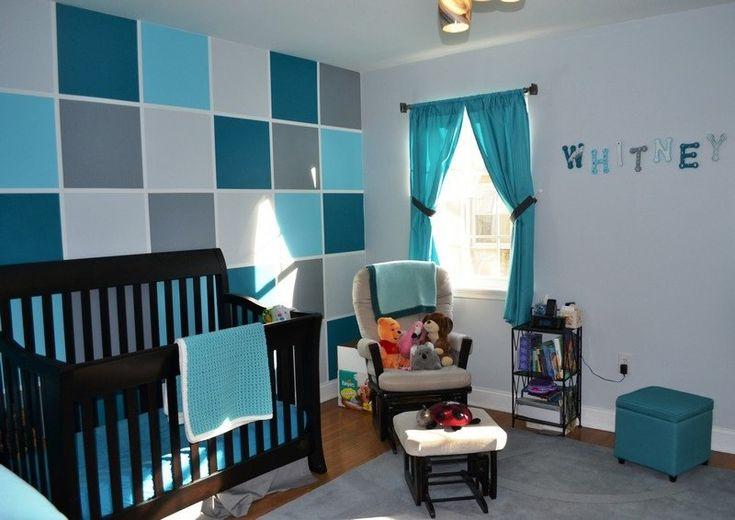 Idée Décoration Maison En Photos 2018 - déco-chambre bébé mur ...