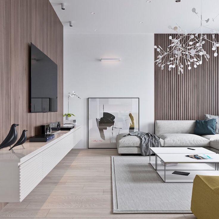 Idée Décoration Maison En Photos 2018 Salon Moderne En