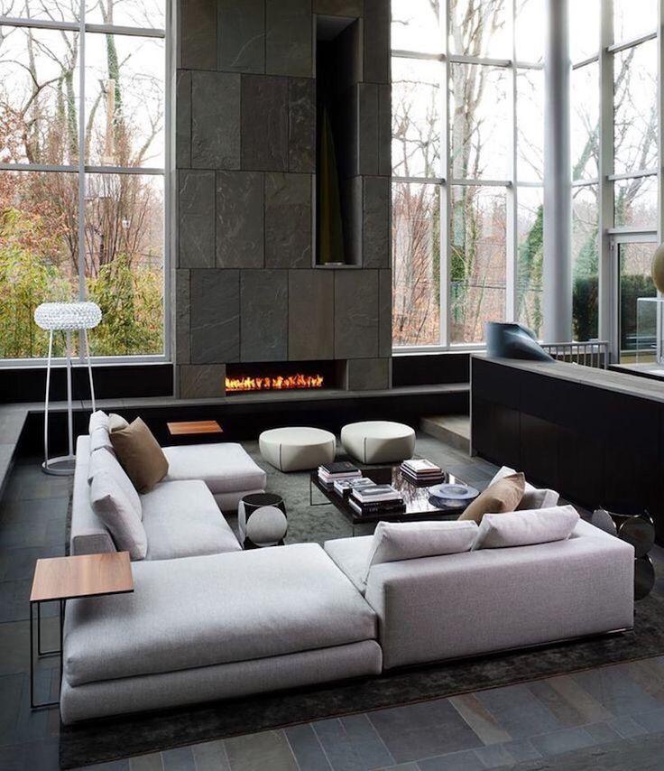 Idée Décoration Maison En Photos 2018 - salon-moderne-neutre ...