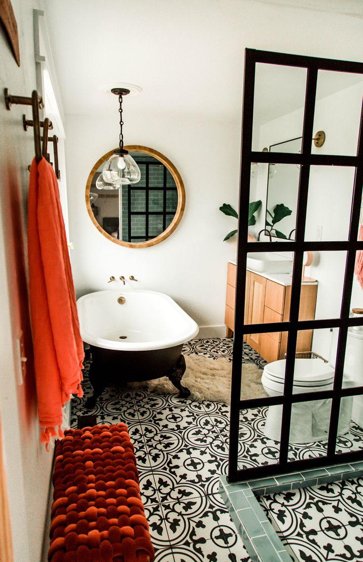 Id e d coration salle de bain pinterest nomadicpisces leading - Salle de bain pinterest ...