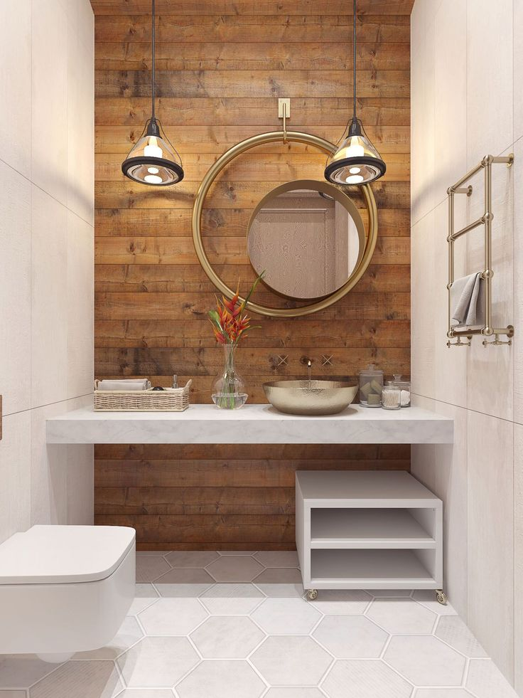 Idée Décoration Salle De Bain Un Esprit Rustique Chic
