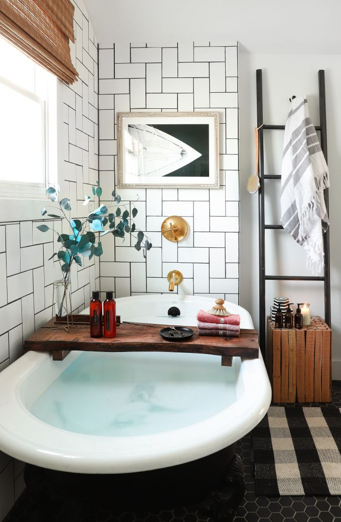 Id e d coration salle de bain diy organization bathroom bottle towel labels listspirit - Organisation salle de bain ...