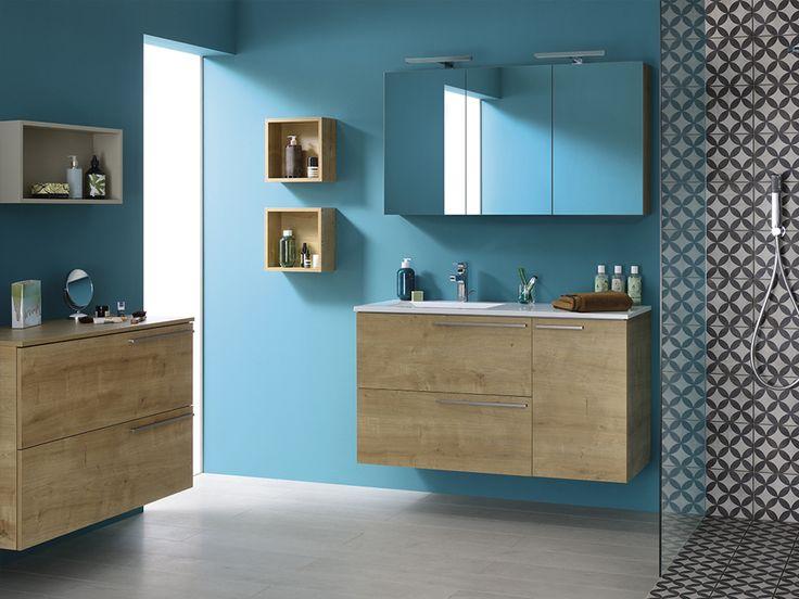 id e d coration salle de bain envie d une d co bleue choisissez des meubles de salle de bain. Black Bedroom Furniture Sets. Home Design Ideas