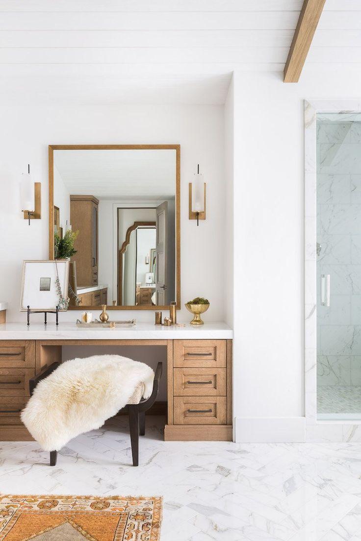 Idée décoration Salle de bain - visite decoration chalet blanc salle ...