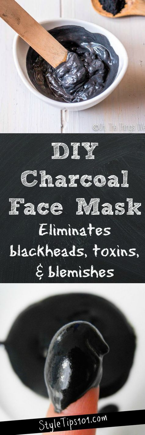id e pour soin du vsage et acn masque fait maison de charbon de bois. Black Bedroom Furniture Sets. Home Design Ideas