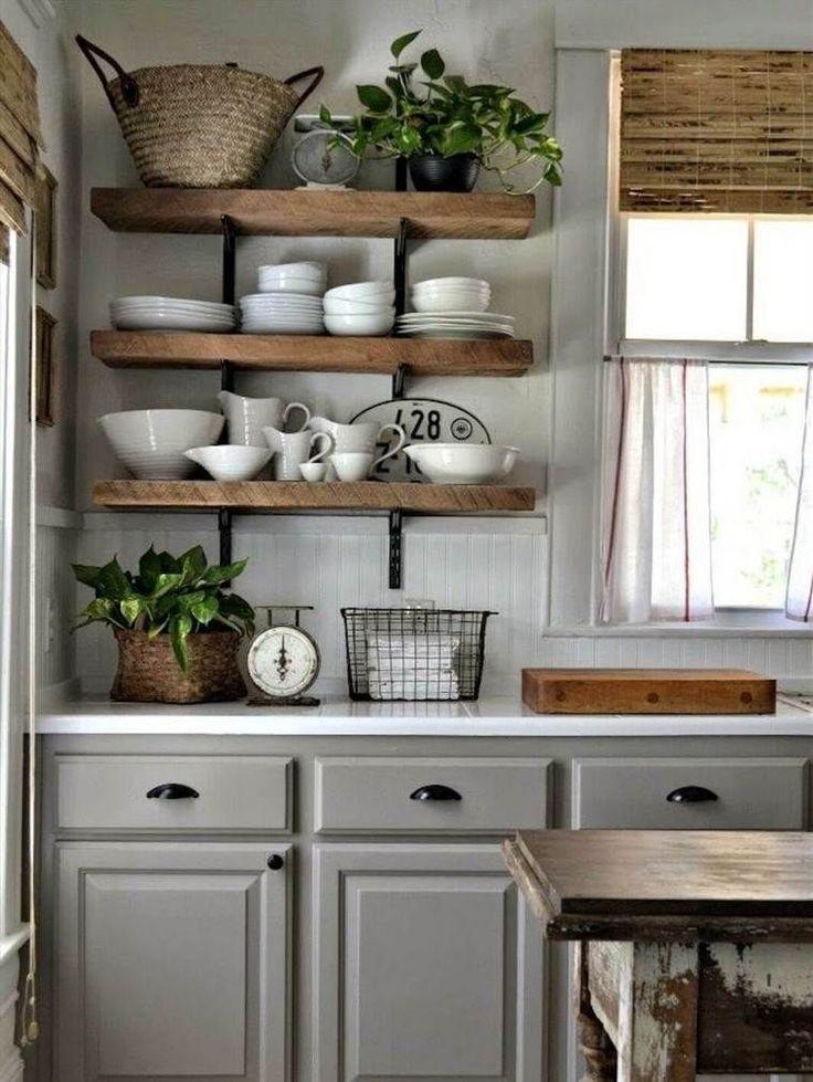 cuisine rustique moderne 20 mod les de cuisine d. Black Bedroom Furniture Sets. Home Design Ideas