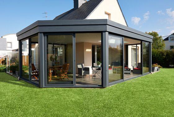 Id e relooking cuisine extension de maison toit plat r alisation fillonneau listspirit for Realisation toit plat