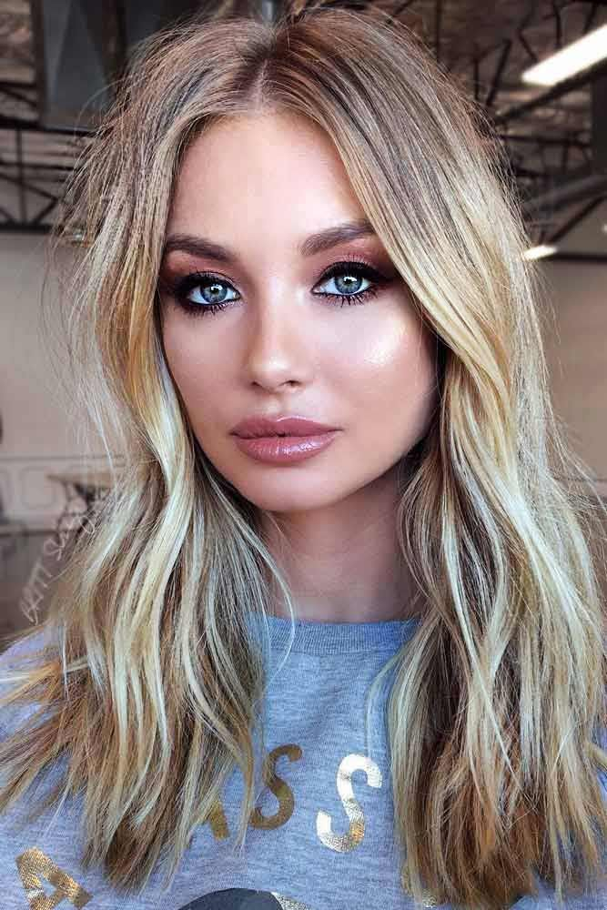 nouvelle tendance coiffures pour femme 2017 2018 cheveux droits blond platine la blonde. Black Bedroom Furniture Sets. Home Design Ideas