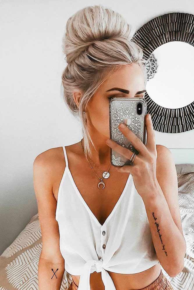 30 Idees De Coiffure Cheveux Long Hair Trends Pinterest Hair