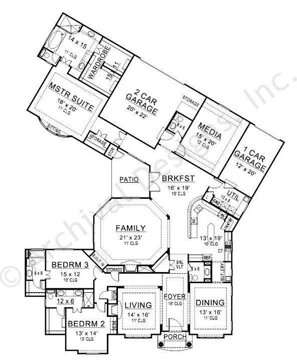 Plan Elevation Maison : Plans maison en photos black rock house plan