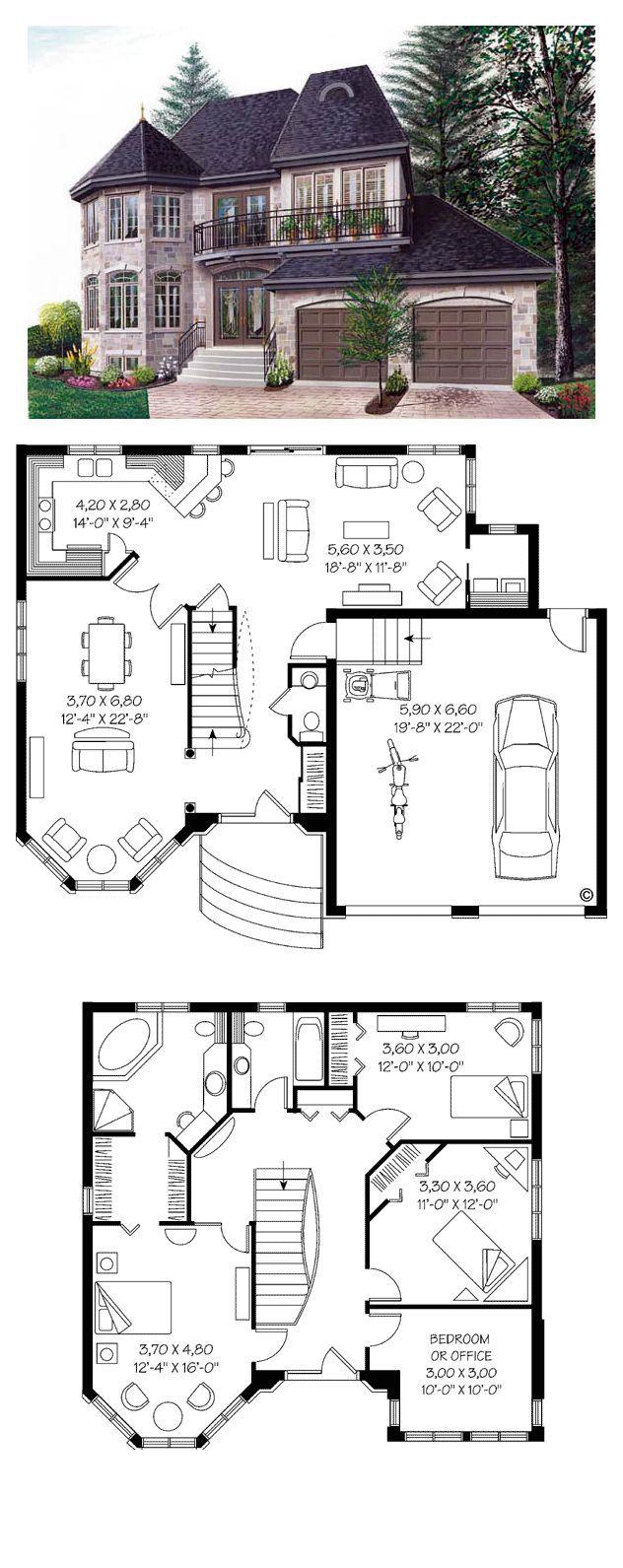 Plans maison en photos 2018 victorian house plan 65210 for Victorian house plans with photos