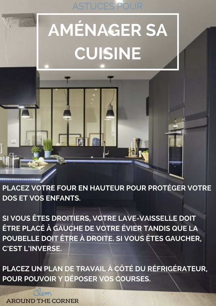 plans maison en photos 2018 comment bien am nager sa cuisine id e et conseil agencement. Black Bedroom Furniture Sets. Home Design Ideas