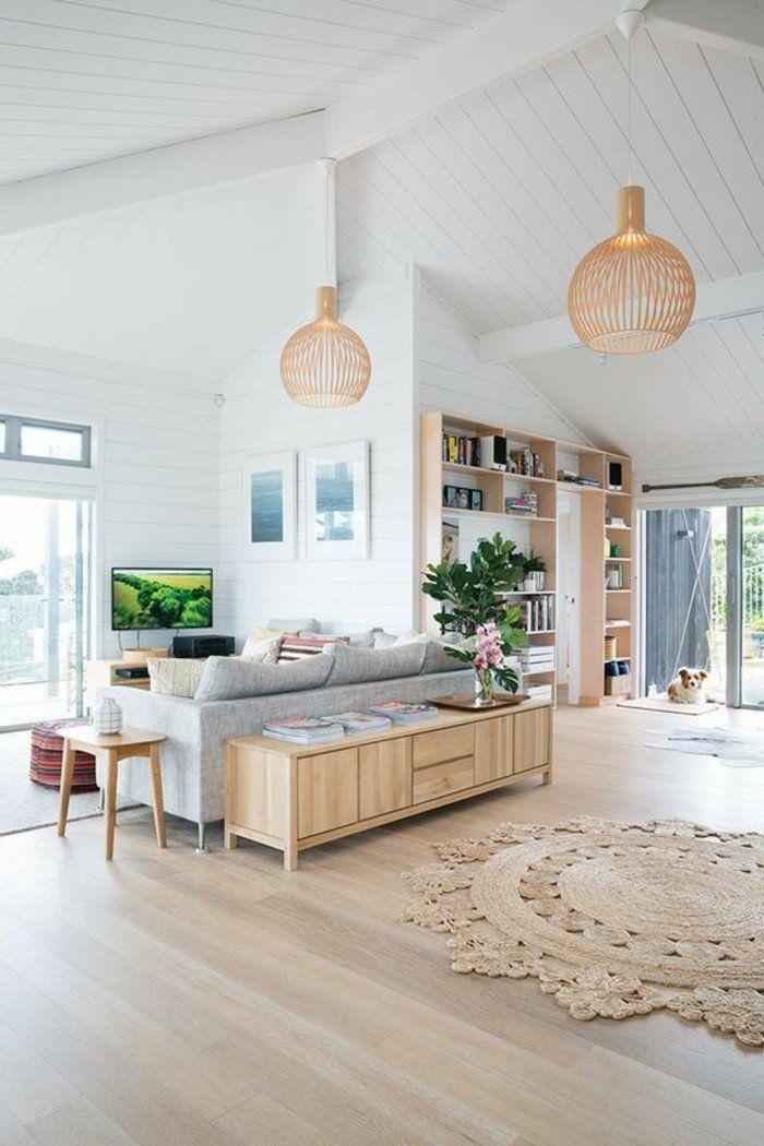 plans maison en photos 2018 joli salon sous pente sol. Black Bedroom Furniture Sets. Home Design Ideas