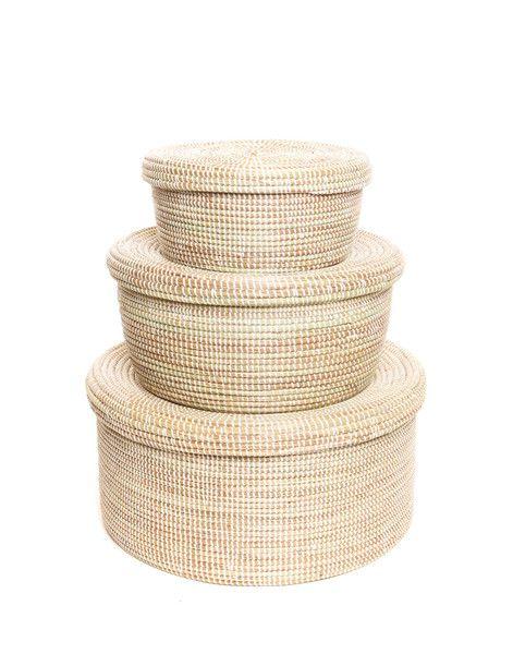 tendance basket 2017 nesting baskets the little market empowers women artisans to rise above. Black Bedroom Furniture Sets. Home Design Ideas