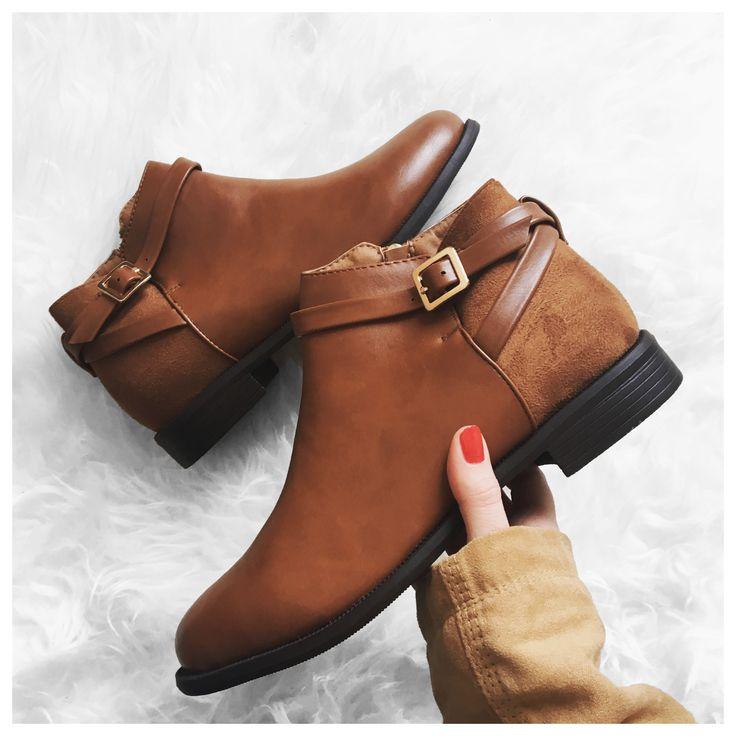 tendance chaussures 2017 bottines femme couleur marron. Black Bedroom Furniture Sets. Home Design Ideas