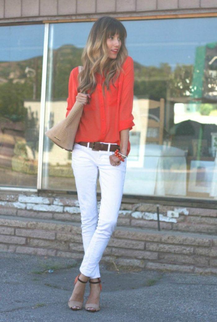 tendance chaussures 2017 style de pantalon pantalon costume blanc femme classe tenue. Black Bedroom Furniture Sets. Home Design Ideas