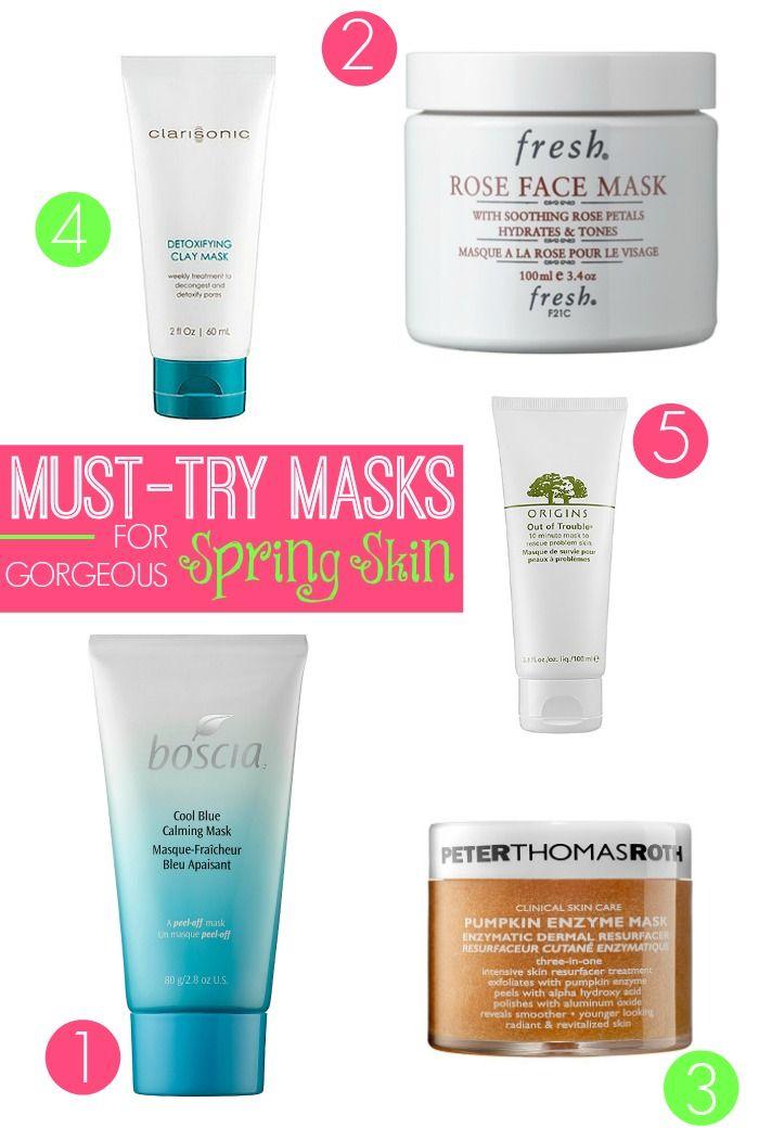 tutoriel sur les soins de la peau meilleurs masques pour la peau de printemps magnifique. Black Bedroom Furniture Sets. Home Design Ideas
