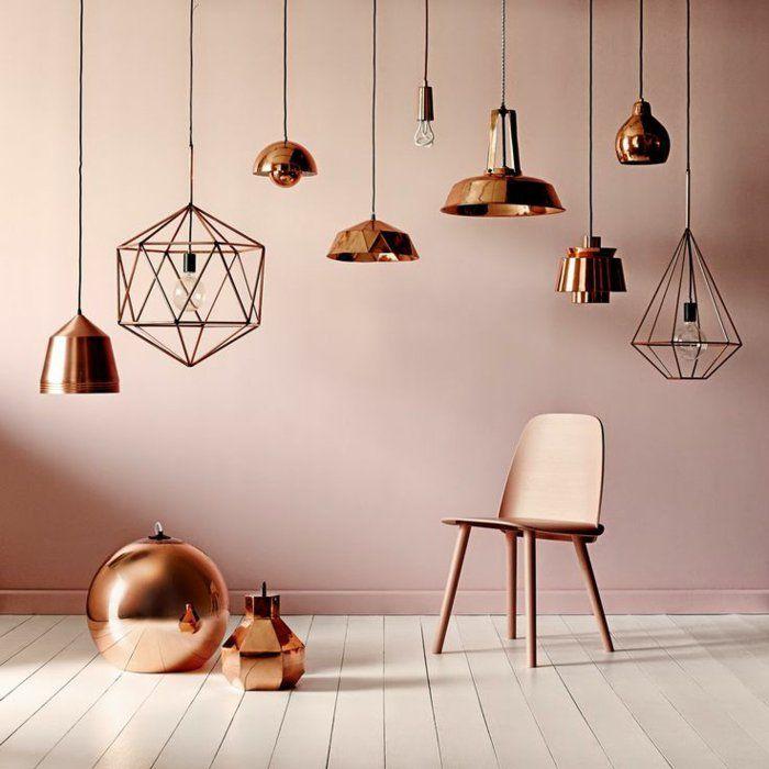 d co salon home staging conseils abat jours lampes suspendues en cuivre boule d corative c. Black Bedroom Furniture Sets. Home Design Ideas