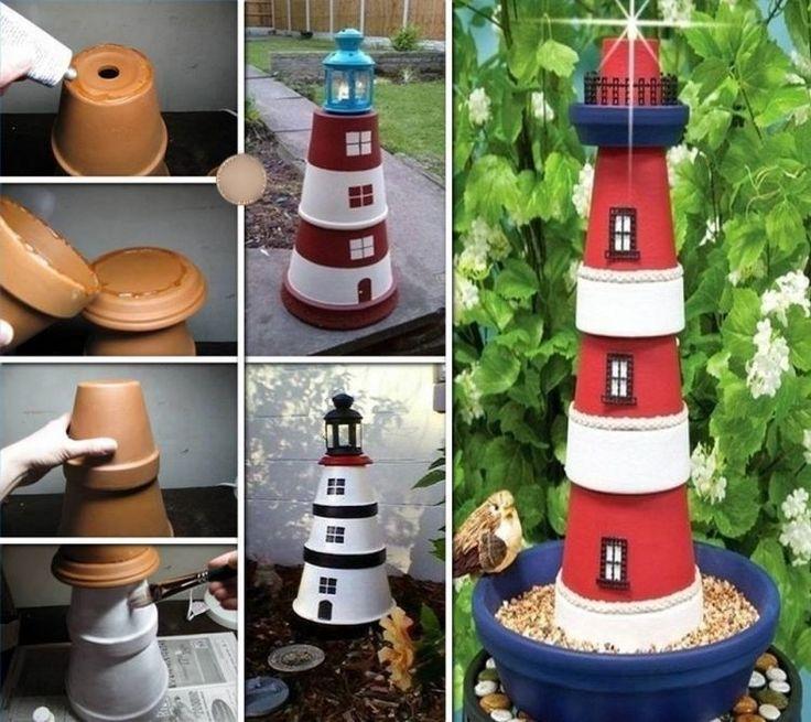 Idée Décoration Maison En Photos 2018 - Déco jardin DIY: 31 idées pour intégrer les pots en ...