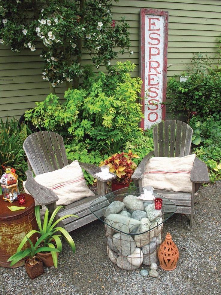 id e d coration maison en photos 2018 galets pour jardin. Black Bedroom Furniture Sets. Home Design Ideas