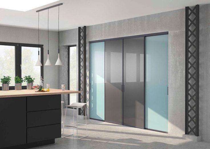 Idée Décoration Maison En Photos 2018 - portes de placard cuisine ...