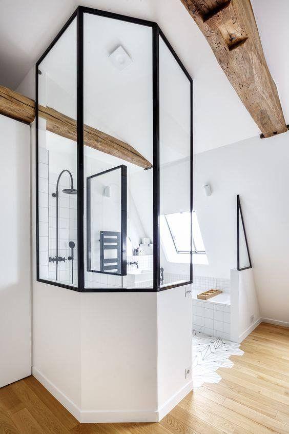 Idée décoration Salle de bain - Aménagement - Suite Parentale ...