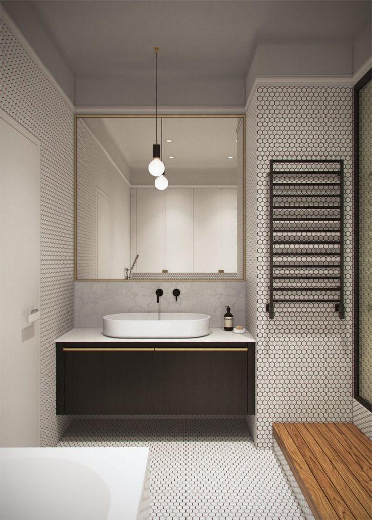 id e d coration salle de bain honey white lumi re et sophistication moderne dans un. Black Bedroom Furniture Sets. Home Design Ideas