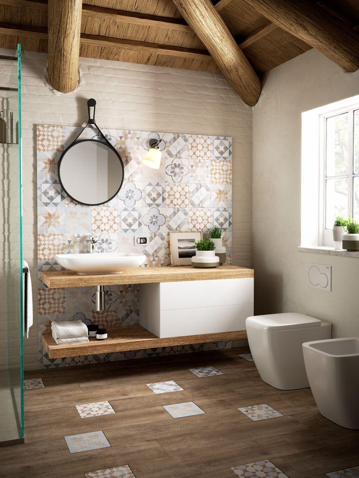 Id e d coration salle de bain une salle de bain qui for Idee salle de bain couleur