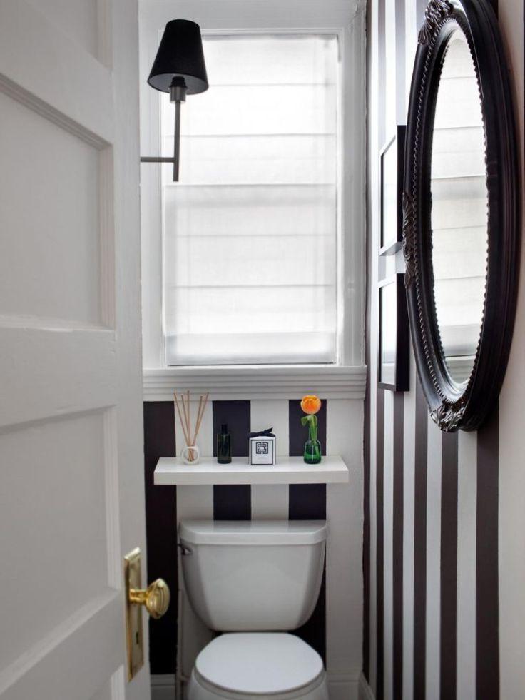 Idée décoration Salle de bain - décoration de wc toilette pour petit ...