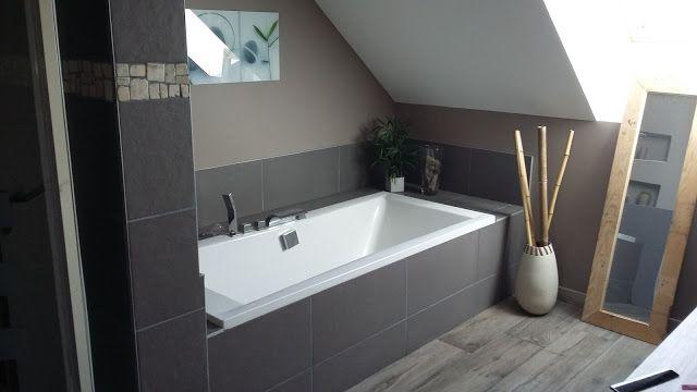 Idée décoration Salle de bain - salle de bain zen nature moderne ...