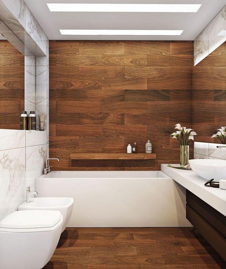 Id e d coration salle de bain salle de bains - Calepinage carrelage sol ...