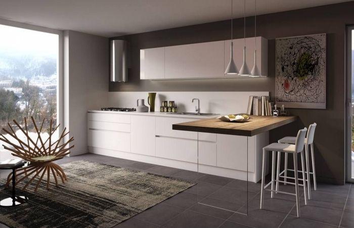id e relooking cuisine avec quelle couleur associer le gris dans une d co cuisine moderne. Black Bedroom Furniture Sets. Home Design Ideas