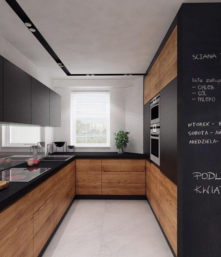 Plans Maison En Photos 2018 - cuisine en U petite surface ...