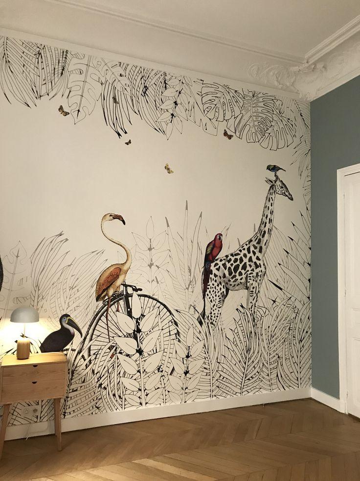Relooking Et Decoration 2017 2018 Papier Peint Animal