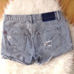 1d67ad1aa186 Tendance salopette 2017 – BDG Distressed Denim Tom Girl Shorts Sz 25  Juniors Trendy style is yours wearing…