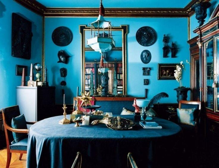 Idée Décoration Maison En Photos 2018 - Peinture turquoise: choisir ...