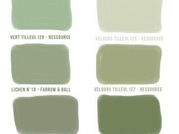 Salon Vert Olive. Best Associer Les Verts En D Co On Ose Le Mixe ...