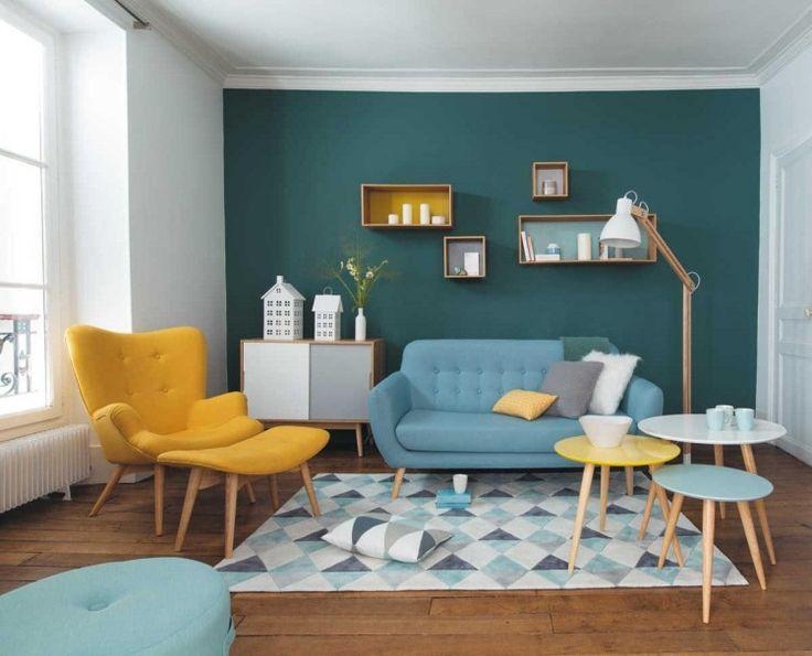 Idée Décoration Maison En Photos 2018 - couleur de peinture murale ...