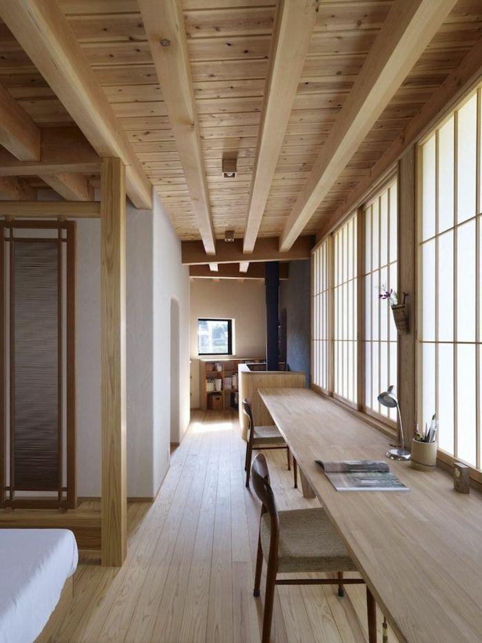 id e d coration maison en photos 2018 decoration chinoise meubles en bois clair plafond en. Black Bedroom Furniture Sets. Home Design Ideas