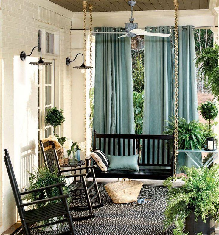 Idée Décoration Maison En Photos 2018 - rideau véranda ...