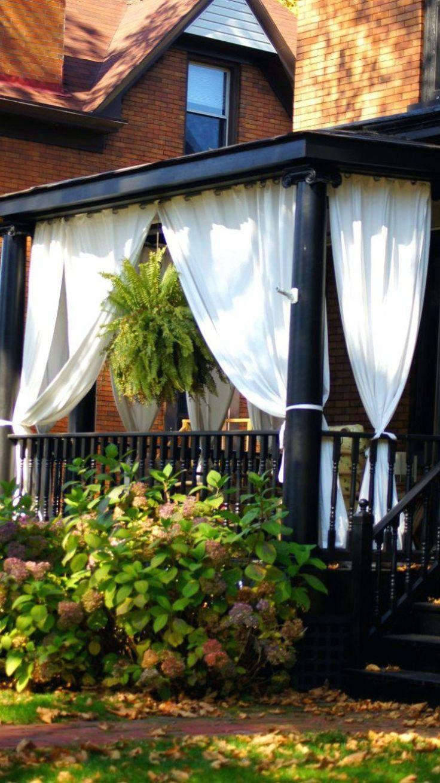 Idée Décoration Maison En Photos 2018 - véranda rideaux pour créer ...