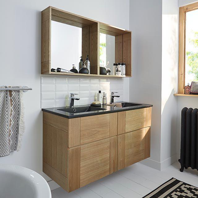 Idée décoration Salle de bain - Castorama, Meuble de salle de bains ...