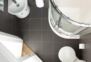 id e d coration salle de bain une salle de bain qui m lange simplicit et couleur bois et. Black Bedroom Furniture Sets. Home Design Ideas