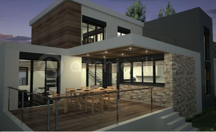 Idée relooking cuisine - Maison Amanda : une maison Moderne ...