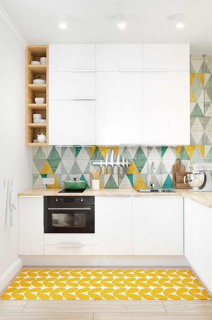 id e relooking cuisine couleur pour cuisine moderne peinture murale blanche des armoires. Black Bedroom Furniture Sets. Home Design Ideas