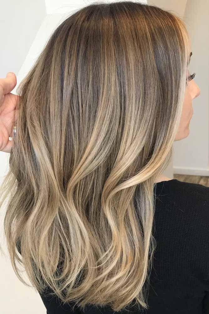 Cheveux Ombre Brun Clair Lightbrowncolor Mediumhair