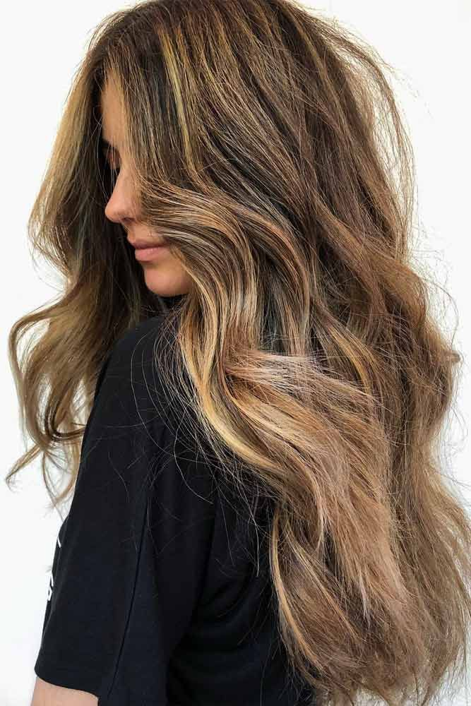 coiffure balayage blond sur cheveux chatain coiffure 2019. Black Bedroom Furniture Sets. Home Design Ideas